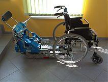 Schodołaz STAIRMAX - jedyny na świecie samoobsługowy schodołaz dla osób niepełnopsprawnych -