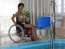 Podnośnik basenowy D-in -