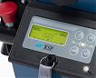 Schodołaz YACK N962 wyposażony jest w duży i czytelny wyświetlacz elektroniczny na kolumnie sterującej -